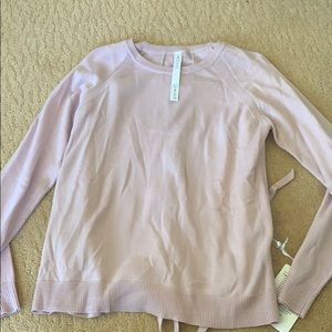 Tied to you sweater, lululemon size 6
